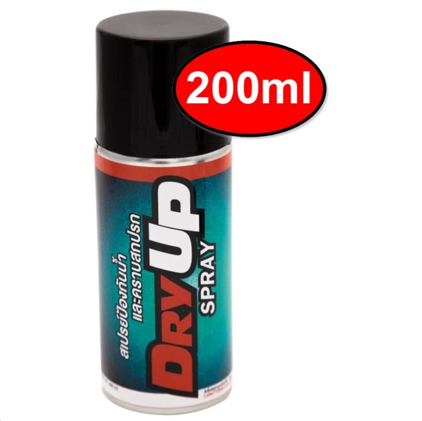 Chai xịt chống thấm nước bảo vệ giày, da, vải, nỉ LUBE 71 Dry Up Spray 200ml
