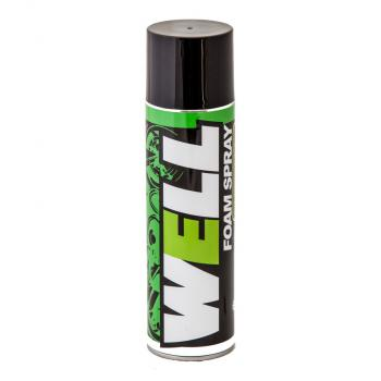 Chai xịt bọt tuyết vệ sinh nón bảo hiểm, yên, rửa xe khô nhanh chóng LUBE71 Well Foam Spray 600ml