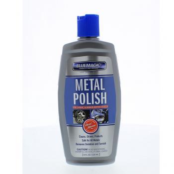 Dung dịch đánh bóng kim loại, chrome, nhôm, inox BlueMagic Metal Polish #200 237ml