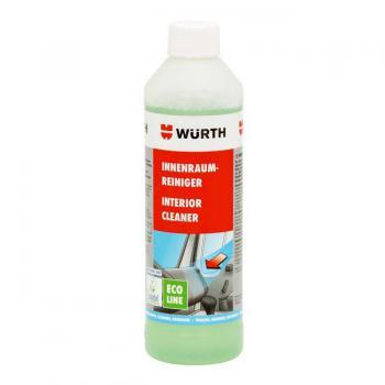 Dung dịch vệ sinh nội thất Wurth Interior Cleaner Eco Line 500ml siêu đậm đặc và tiết kiệm