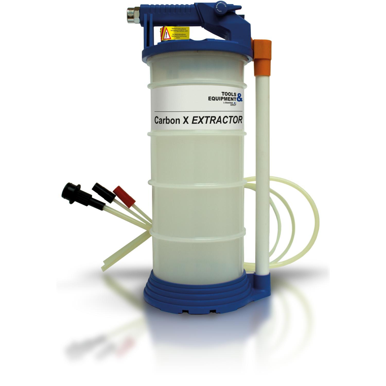 Máy hút dung dịch dùng khí hơi nén áp suất Bluechem CarbonX Extractor