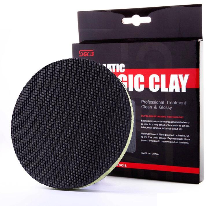 Phớt tẩy bụi sơn dùng máy SGCB Clay Pad (Taiwan) 6in - 150mm SGGE010