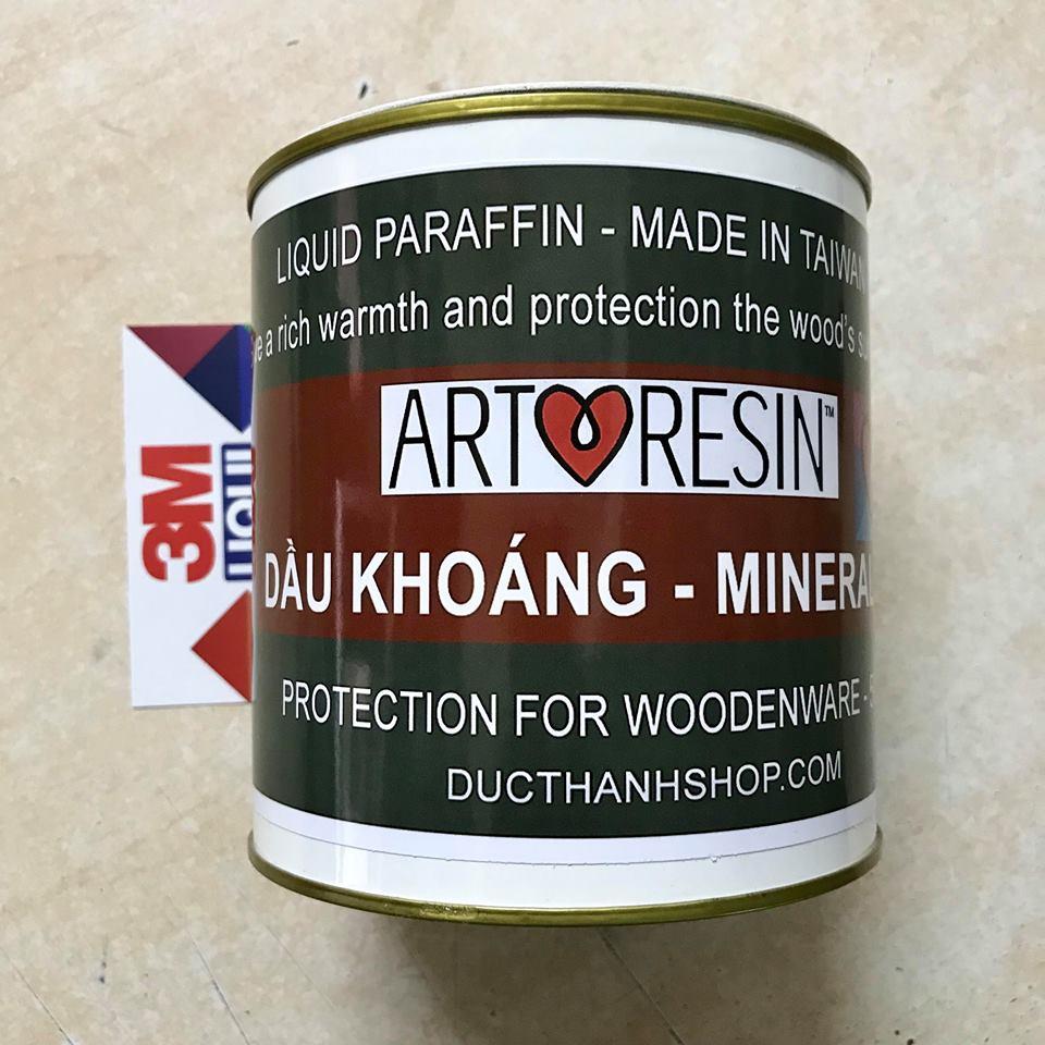 Dầu Khoáng (Mineral Oil) Xử Lý Bảo Vệ Gỗ - Dầu Parafin Trắng 500g