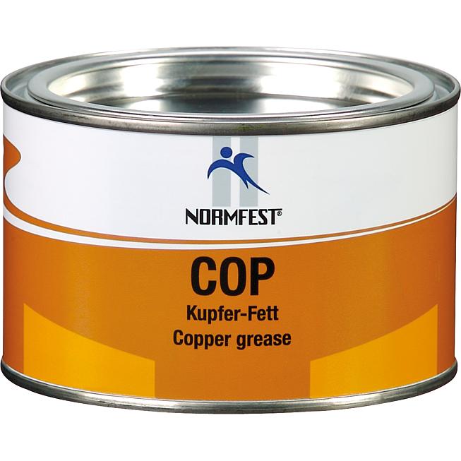 Mỡ bò đồng chịu nhiệt cao 1200 độ C Normfest COP Copper Grease 250g