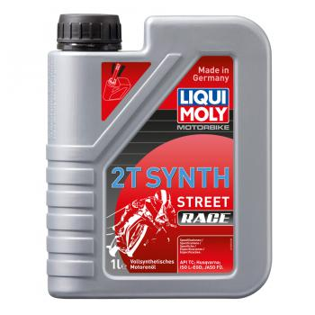 Nhớt chuyên dùng cho xe 2 thì Liqui Moly Motorbike 2T Synth Street Race 1505 1 lít