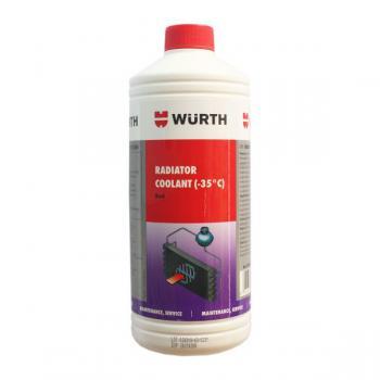Nước làm mát động cơ Wurth Radiator Coolant loại pha sẵn 1 lít