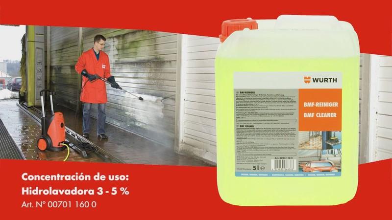 Nước tẩy rửa đa năng nội ngoại thất Wurth BMF Workshop Cleaner 08931182 5L
