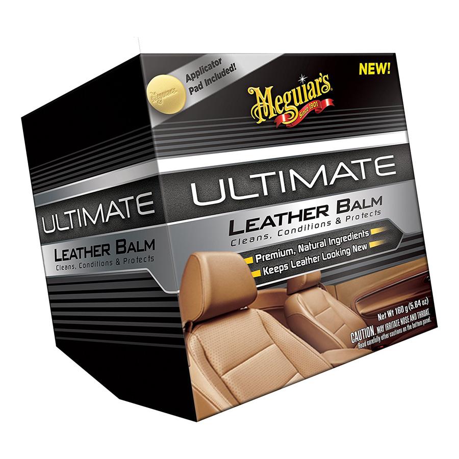 Sáp dưỡng da thật cao cấp Meguiar's G18905 Ultimate Leather Balm  160g