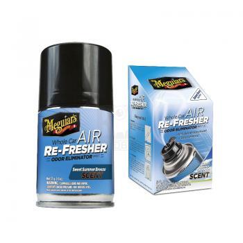 Khử mùi diệt khuẩn nội thất Meguiar's Whole Car Air Re-Fresher (Summer Breeze Scent) G16602 71g