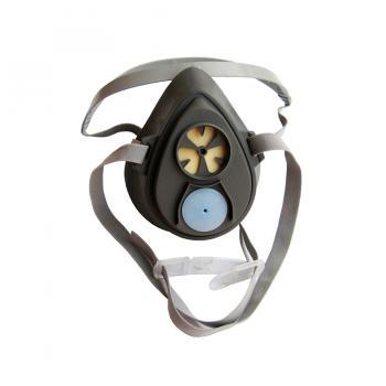 Mặt nạ nửa mặt sử dụng 1 phin lọc 3M Reusable Half Face Mask Respirator 3100