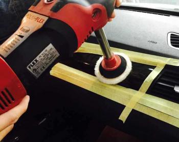 Thanh nối dài trục máy đánh bóng đồng tâm M14  Rotary Polisher Extension Bar 10cm
