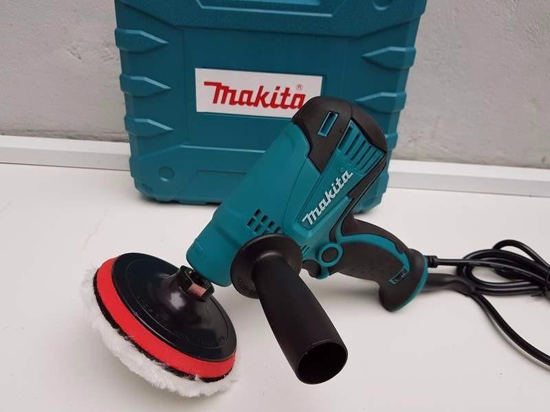 Máy đánh bóng Makita GV6010 điều chỉnh tốc độ 6 cấp, đế 5in 125mm M14, nhỏ gọn