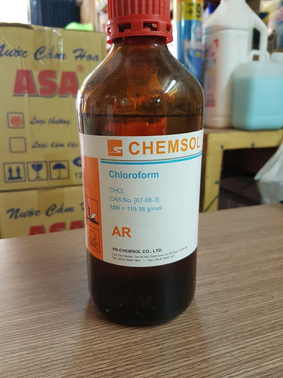 Keo lạnh dán Mica Chemsol AR 500ml - chuyên dùng dán cạnh mica