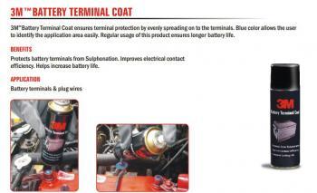 Chai xịt phủ bảo vệ và tránh ăn mòn cọc bình ắc quy 3M Battery Terminal Coat (250 ml)