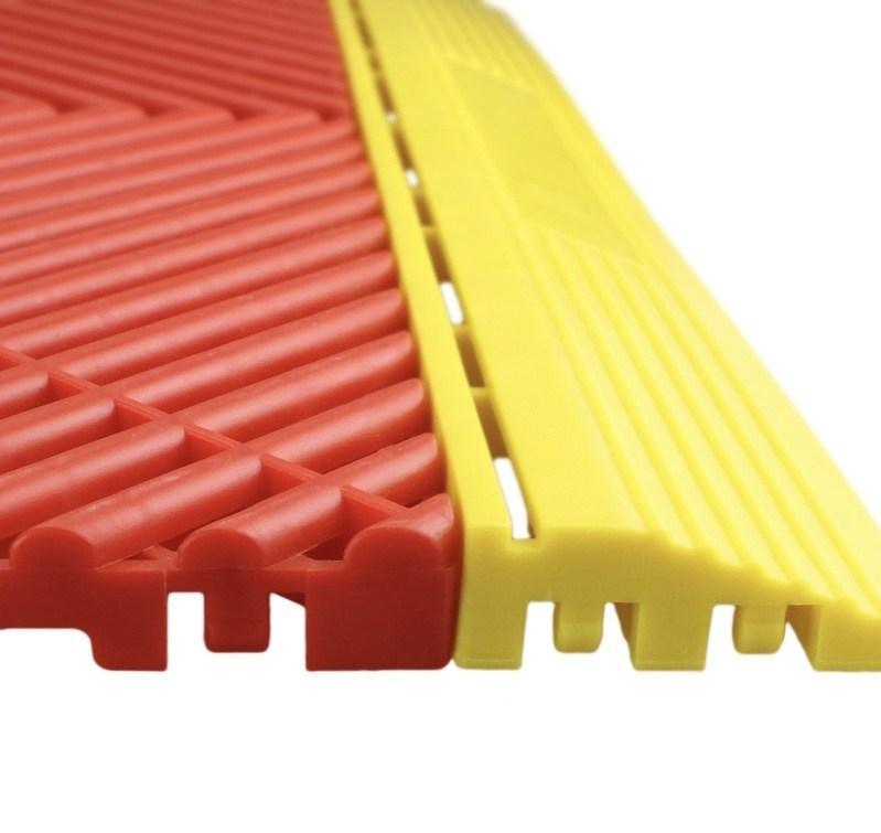 Tấm nẹp cạnh lót sàn SGCB Garage Floor Tile Edges 400mmx60mmx18mm SGGD088