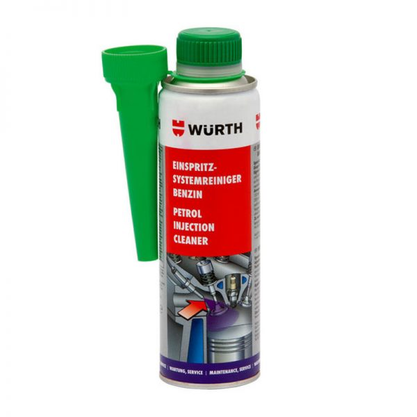 Súc béc xăng Wurth Petrol injection system cleaner 5861111300 300ml