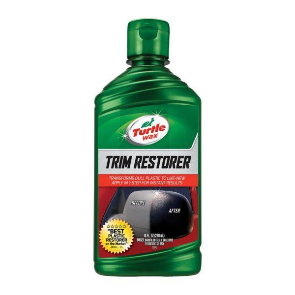 Dung dịch phục hồi nhựa đen - nhựa nhám không sơn Best Plastic Trim Restorer Turtle Wax  296ml