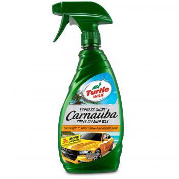 Xịt bóng sơn nhanh cho xe sơn bóng Turtle Express Shine Wax Carnauba Cleaner Wax 473ml
