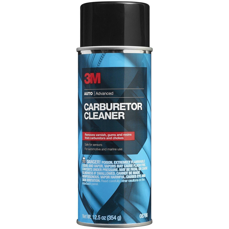 Chai xịt vệ sinh bộ chế hòa khí - bình xăng con 3M Carburetor Cleaner 08796 354g