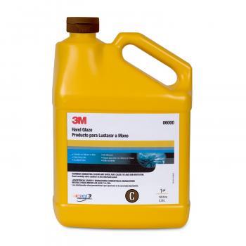 Dung dịch đánh bóng bước 3 - tăng độ bóng siêu cấp 3M Hand Glaze C 06000  3.78lit