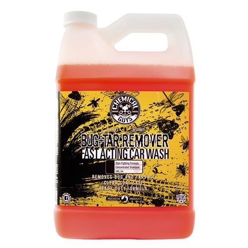 Vệ sinh nhựa cây, phân chim, nhựa đường can lớn Chemical Guys CWS_104 - Bug & Tar Heavy Duty Car Wash Shampoo (1 Gal - 3.78lit)