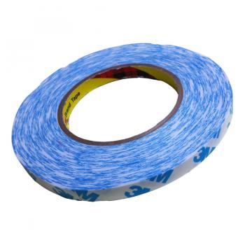 Băng keo 2 mặt 3M Double Coated Tissue Tape 90775 10mmx50m (Trắng phối xanh)