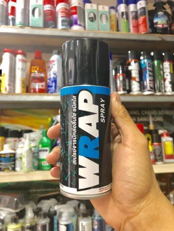 Chai xịt bôi trơn sên có phốt LUBE71 Wrap Spray Mini 200ml0