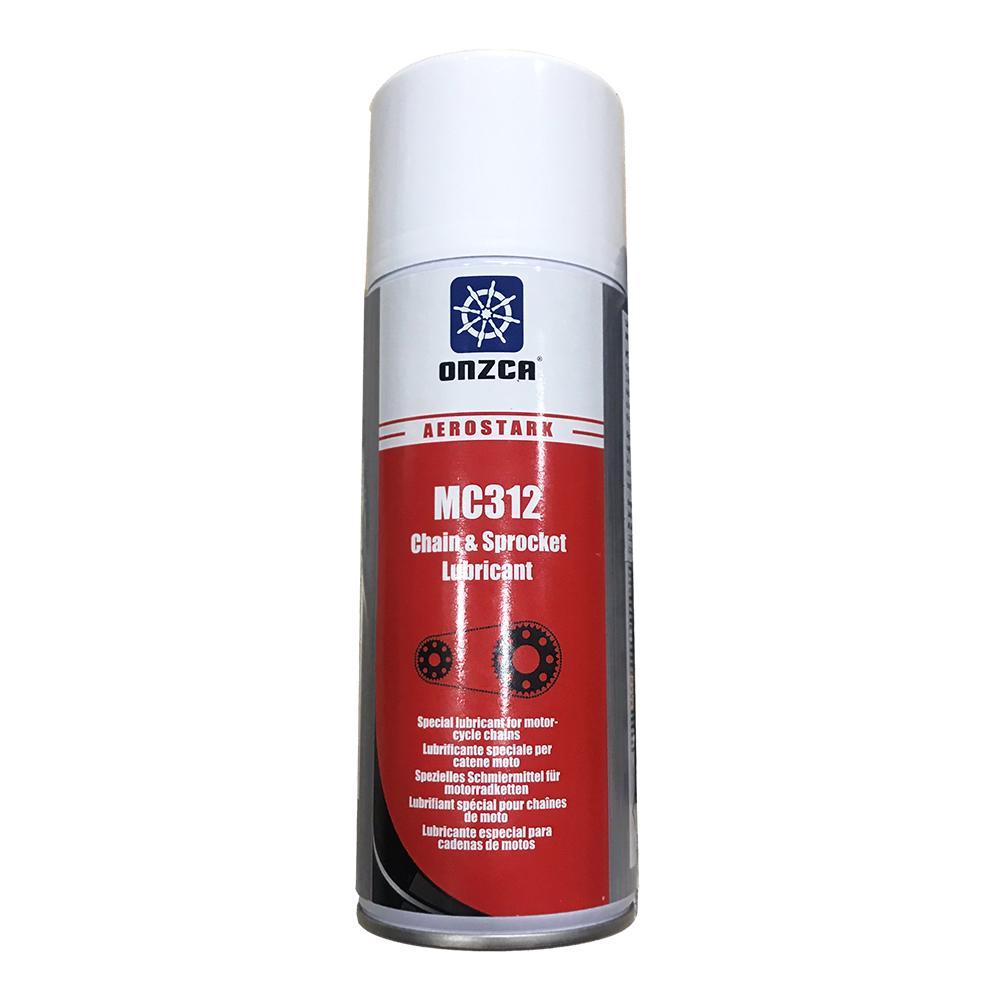 Chai xịt bôi trơn và dưỡng sên đa dụng Onzca MC1312 Chain & Sprocket Lubricant 400ml