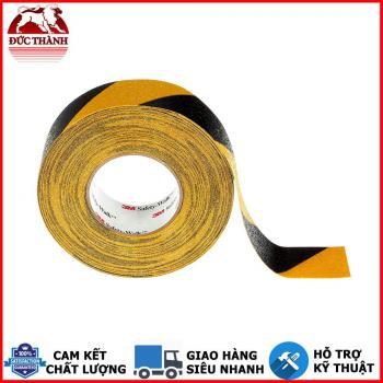 Băng keo chống trượt màu sọc vàng phối đen cảnh báo 3M 613 50mm x 18.3m