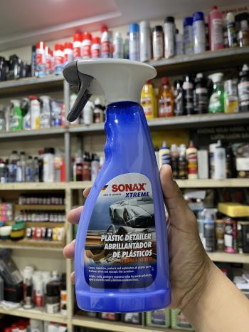Bảo dưỡng nhựa đa năng nội và ngoại thất xe Plastic DETAILER Sonax 255241 500ml