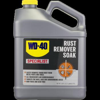 Dung dịch làm sạch gỉ sét gốc nước WD-40 USA Specialist Rust Remover Soak gốc nước 3-78l(1 galllon) WD001