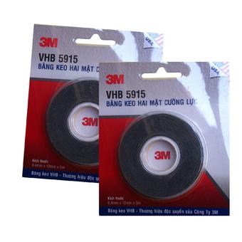 Băng keo siêu dính 3M VHB 5915 12mmx5m(Đen)