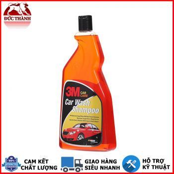 Nước rửa xe bọt tuyết đậm đặc - PH cân bằng - nhiều bọt 3M Car Wash Shampoo 1 lit 305860