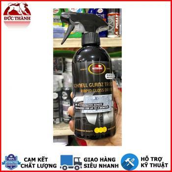 Chai xịt bóng nhanh cao cấp từ Đức Autosol Epress Rapid Drying Wax #2550 500ml
