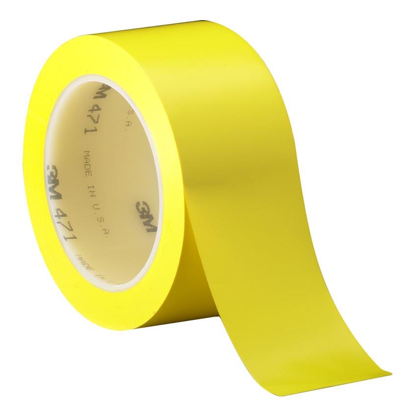 Băng keo dán nền - 3M Vinyl 471 50mm x 33m (Vàng)
