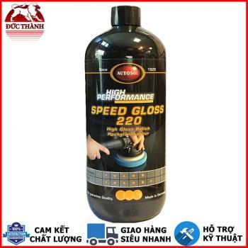 Paste đánh bóng bước 2 bóng nhanh từ Đức Autosol Speed Gloss 220 #6220 1000ml