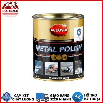 Kem đánh bóng kim loại đa dụng dạng lon lớn Autosol Metal Polish #1100 750ml