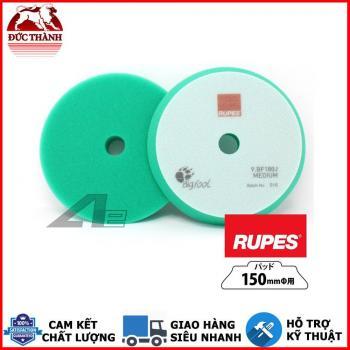 Phớt xanh lá đánh bóng bước 2 RUPES dùng đế 6in (150mm) cho máy DA21/LHR21 9BF180J MEDIUM
