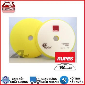 Phớt vàng đánh bóng bước 3 RUPES dùng đế 6in (150mm) cho máy DA21/LHR21 9BF180M FINE
