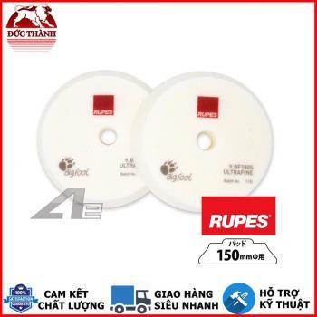Phớt trắng đánh bóng bước 4 hay bôi wax RUPES dùng đế 6in (150mm) cho máy DA21/LHR21 9BF180S ULTRAFINE