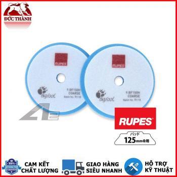 Phớt xanh da trời đánh xóa xước bước 1 RUPES dùng đế 5in (125mm) cho máy DA15/LHR15 9BF150H COARSE