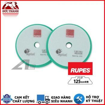Phớt xanh lá đánh bóng bước 2 RUPES dùng đế 5in (125mm) cho máy DA15/LHR15 9BF150J MEDIUM