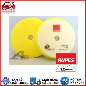 Phớt vàng đánh bóng bước 3 RUPES dùng đế 5in (125mm) cho máy DA15/LHR15 9BF150M FINE