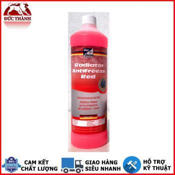 Nước làm mát pha sẵn cao cấp từ Đức Bluechem Radiator Antifreeze Red 1 lit