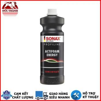 Nước rửa xe bọt tuyết nhiều bọt thơm mùi bò húc Sonax Profiline Actifoam Energy 618300 1 lit