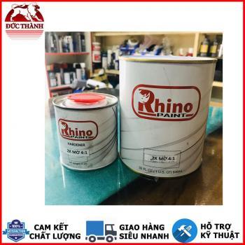 Sơn 2K mờ 50 loại 2 thành phần cao cấp, kháng UV độ bề cao Rhino Paint 1.25kg