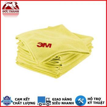 Bộ 10 khăn Microfiber High Performance mềm và an toàn cho bề mặt 3M Scotch Brite 32cm x 36cm