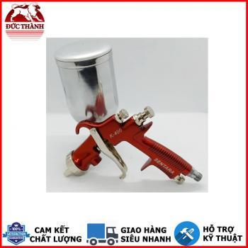 Súng phun sơn đa dụng Sentara K400 màu đỏ đầu phun 1.3mm kèm cốc sơn 400ml
