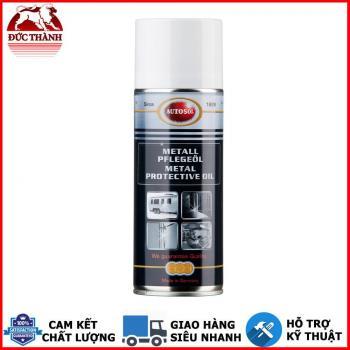 Chai xịt dầu bảo vệ bề mặt kim loại, chống bám vân tay, chống rỉ bảo vệ bề mặt Autosol Metal Protective Oil 1710 400ml