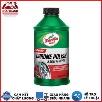 Dung dịch tẩy gỉ, phục hồi làm bóng bề mặt crom Con Rùa Turtle Chrome Polish & Rust Remover 01280 355ml
